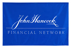 Custom banner for John Hancock