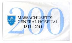 Mass general hospital custom flag