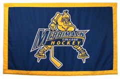 Hockey East Conference, Merrimack logo banner, applique