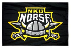 NKU Norse applique spirit flag