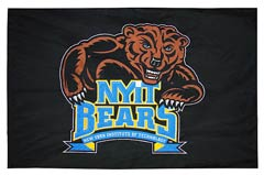 Custom battle flag, NYIT Bears
