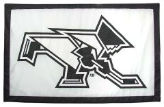 Hockey East Conference, Providence College logo banner, hand-sewn