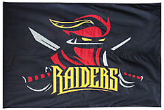 Raiders custom battle flag