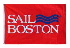 Sail Boston logo flag