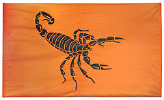 Scorpion custom battle flag