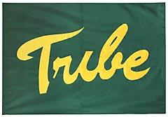 Tribe hand sewn battle flag