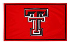 Texas Tech custom logo flag