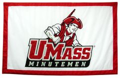 Hockey East Conference, University of Massachusetts Amherst logo banner, applique