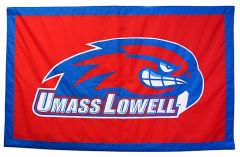 Hockey East Conference, University of Massachusetts Lowell logo banner, applique