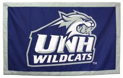 Hockey East Conference, University of New Hampshire logo banner, applique