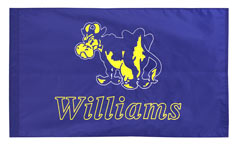 Williams cheer logo flag