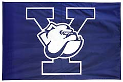 Yale Bulldogs custom battle flag