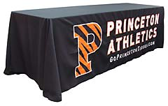 Handcrafted table throw: Princeton Athletics