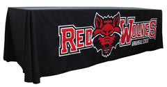 Custom table throw: Arkansas State Redwolves