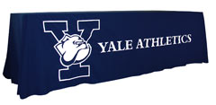 Applique table throw: Yale Athletics