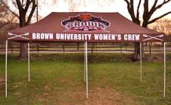 Custom Brown Crew Tent