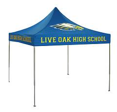 Oak High School custom tent