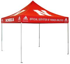 University of Nebraska Custom Applique Tent