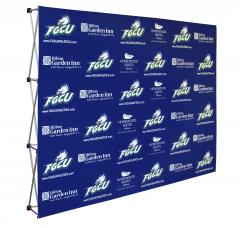 Florida Gulf Coast media backdrop