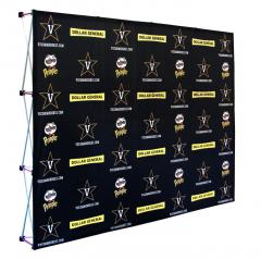 vanderbilt custom printed media backdrop