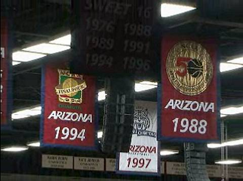 University of Arizona Championship Banners